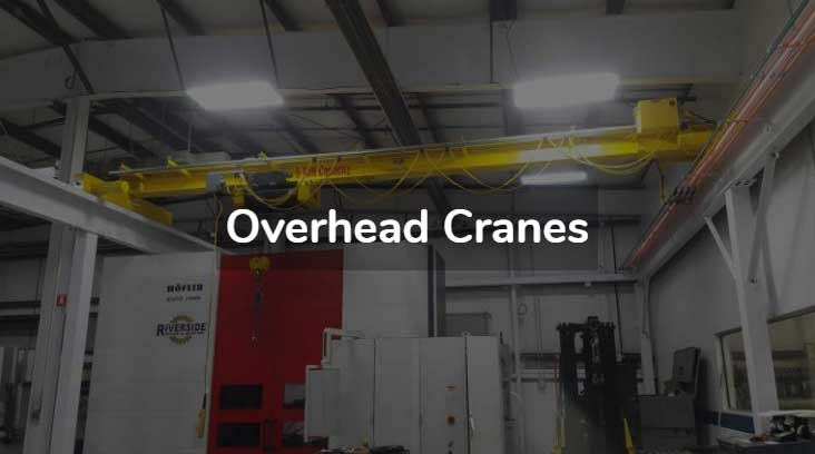 Overhead crane companies in Michigan